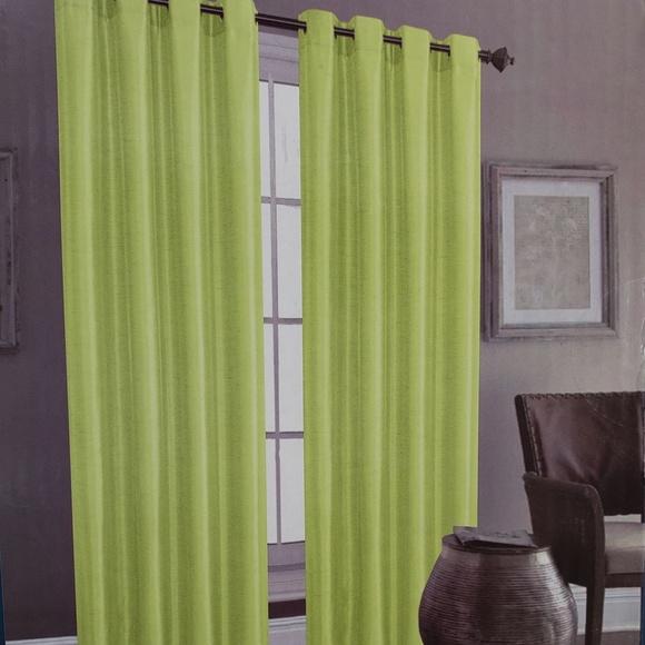 Glory Home Designs Other - Christina Faux Silk Grommet-Top Panel_LemonadeSS